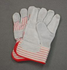 Leather Palm / Rubberized Cuff Work Gloves (12ct)