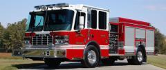 Side Mount Pumper Fire Truck