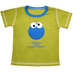 Short Sleeved Tee, Cookie Monster Around the World