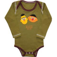 Long Sleeve Bodysuit, Bert & Ernie Around