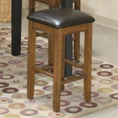 "Siena 24"" Backless Barstool"