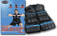 Adjustable 40 LB. Conditioning Vest