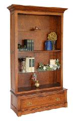 Woodland Prairie Oak Bookcase