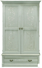 Woodland Prairie Wood Door Cabinet