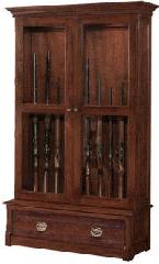 Woodland Prairie Gun Cabinet