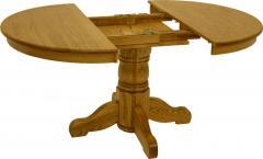 Oak Ridge 42 Inch Round Pedestal Table
