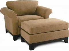 Quinn Chair and Ottoman