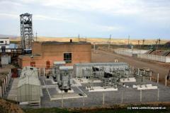 Coal, met-coke, and heavy equipment.