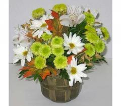 Harvest Morning Flower Basket