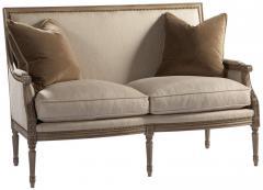 Custom Upholstery Exeter Loveseat