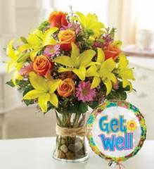Fields of Europe Get Well Bouquet 17814