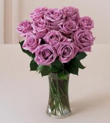 Lavender Rose Bouquet FF54