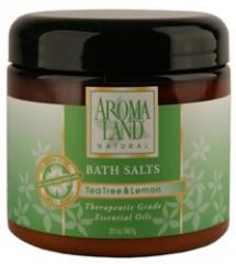Bath Salts, Tea Tree & Lemon