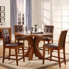 Hudson 5 Piece Counter Table and Chair Set