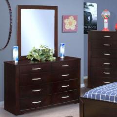 Malibu Youth Dresser and Mirror Set