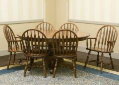 Bowback Group Customizable 7 Pc. Oval Table