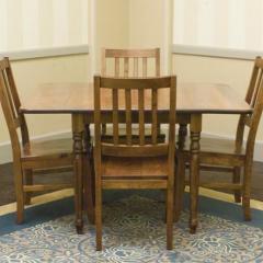Lance Customizable Drop-Leaf Table