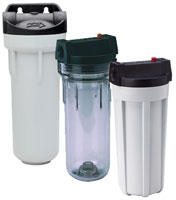 Standard Cold Water Filter Housings