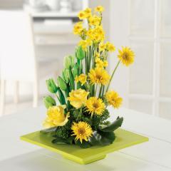 Garden Of Sunshine Floral Arrangement NSFB003