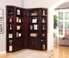 Boston Corner Bookcase Unit