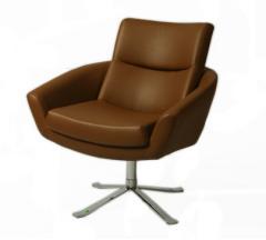 Aliante Club Chair in Brown