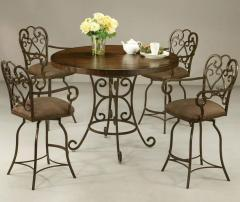 Magnolia 5 Piece Table & Chair Set