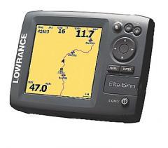 Lowrance Elite-5m Baja Chartplotter GPS navigation