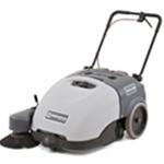 "Advance 28"" Walk-Behind Battery Sweeper"