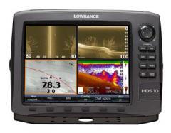 Lowrance HDS-10 Gen2 Fishfinder/Chartplotter