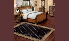 As03 / Blk Area Rug