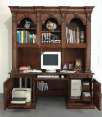 St. James Computer Desk and Hutch