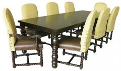 La Bella Vita 9-Piece Rectangle Dining Table