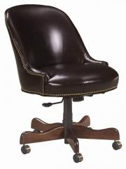 Blaire Traditional Leather Desk Chair