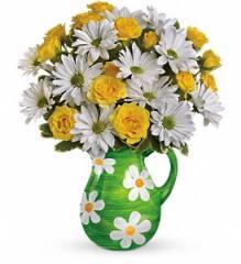 Teleflora's Happy Daisies Bouquet