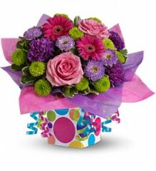 Teleflora's Confetti Present Bouquet
