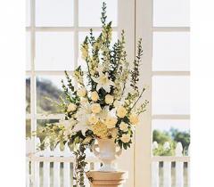 Home Ceremony Wedding Vows Arrangement