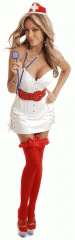 Sexy Costumes Sexy Corsets Leather Naughty Nurse