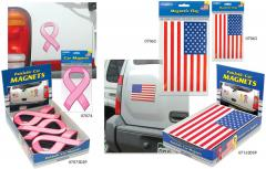 Magnetic Ribbons and Flags