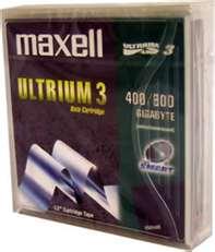 Maxell's new LTO Ultrium 3 media