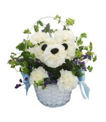 Doggone Cute Floral Arrangement
