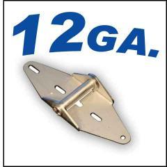 12 Ga. Stainless Steel Hinges