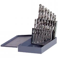 High Speed Steel / Bright Finish Fractional Drill Bit Sets