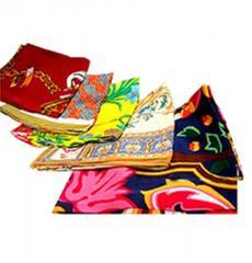 Silk women's scarves