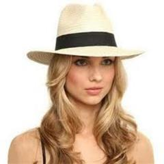 Women's straw hats