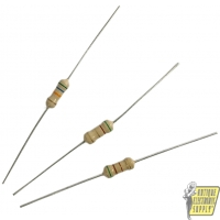 Resistor Kit - Carbon Film, 1/2 W, 5 pieces of