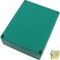 Chassis Box, Die-Cast Aluminum, Green