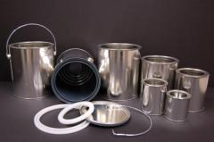 Tin Containers, Pails