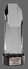 Black Pedestal Crystal