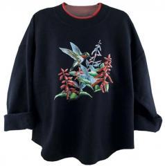 K510-Navy-P1 Sweatshirt
