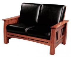 Aspen Mission Loveseat